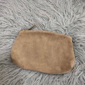 BAGGU Leather Cosmetic Bag
